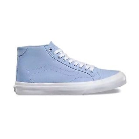 Reasonable Price Mens Casual Shoes - Vans Court Mid (Canvas) Serenity
